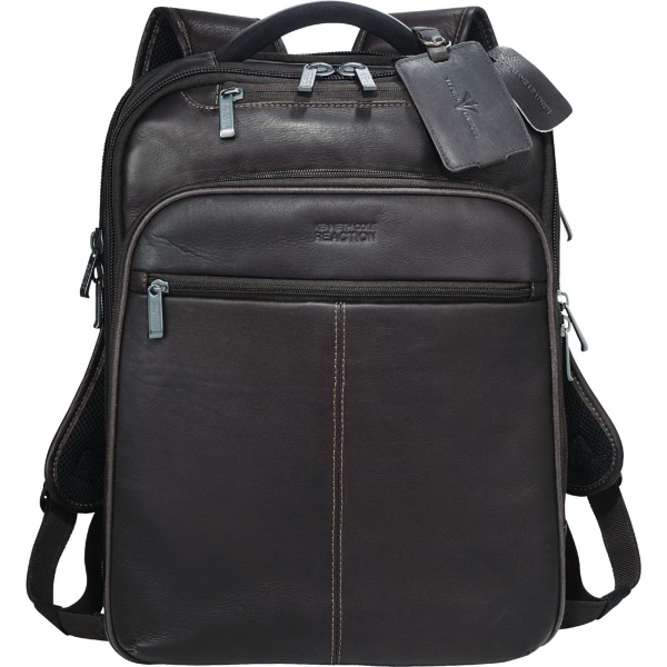 Kenneth Cole (R) Colombian Leather TSA Compu-Backpack