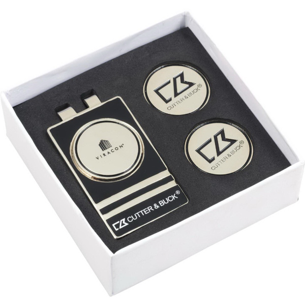 Cutter & Buck (R) Tour Money Clip Gift Set