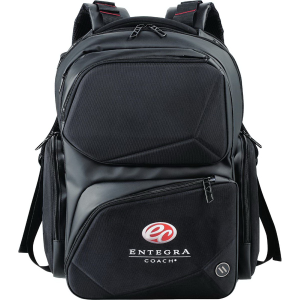 elleven (TM) Prizm Checkpiont-Friendly Compu-Backpack