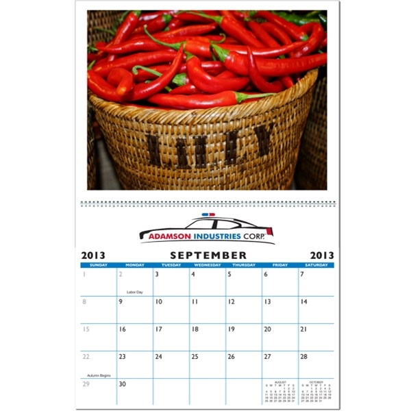 In the Image Pesonalized Wall Calendar