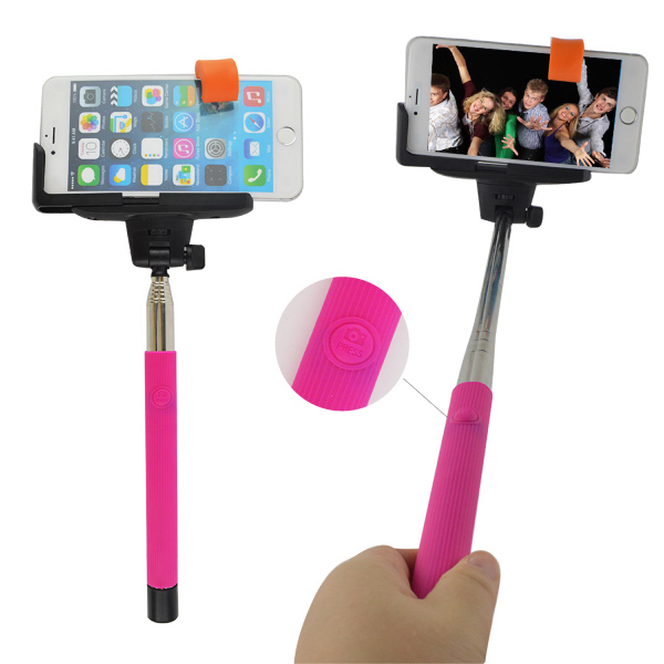 Bluetooth Selfie Sticks with Built in selfie snapper