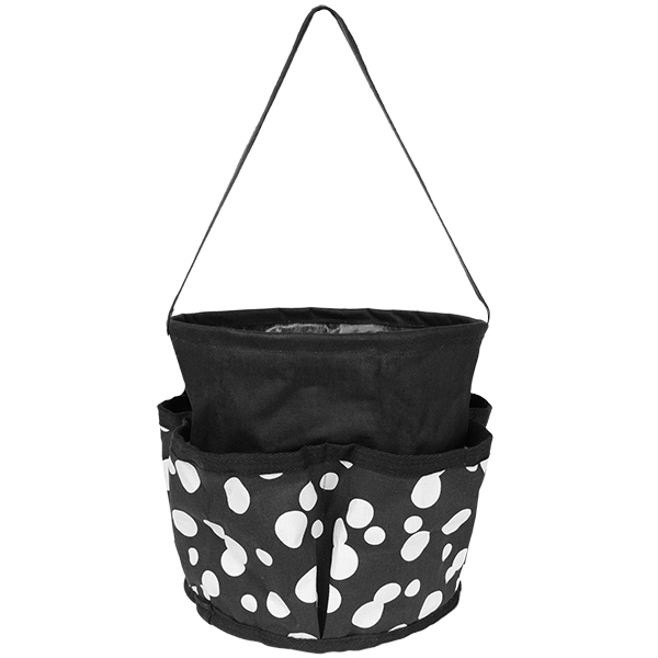 Round Printed Utility Tote