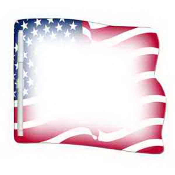 Flag Erasable Memo Board