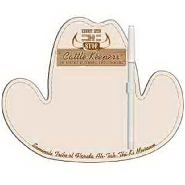 Cowboy Hat Erasable Memo Board