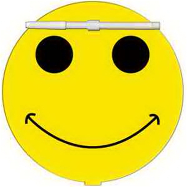 Smiley Face Erasable Memo Board