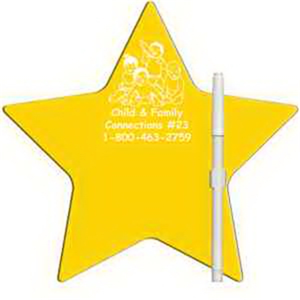 Star Erasable Memo Board