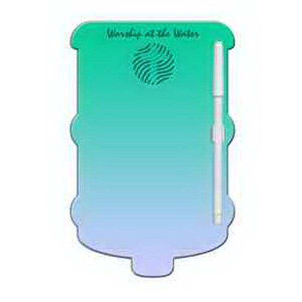 Water Cooler Erasable Memo Board