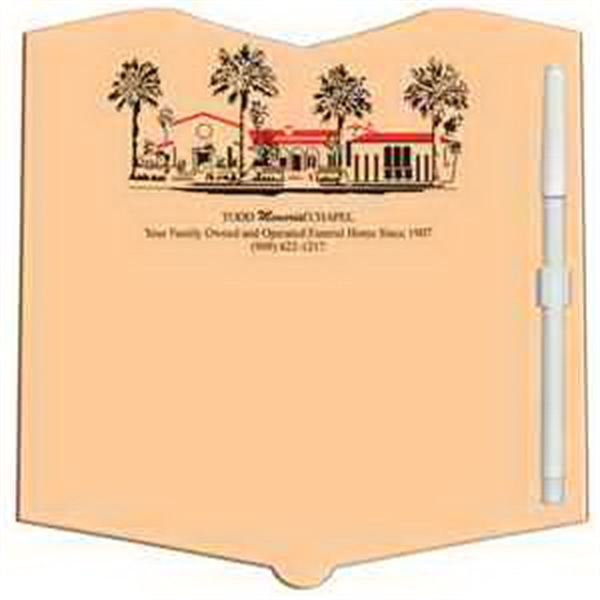 Open Book Erasable Memo Board