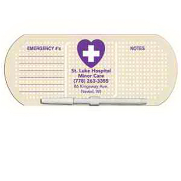 Band Aid/Pill Erasable Memo Board