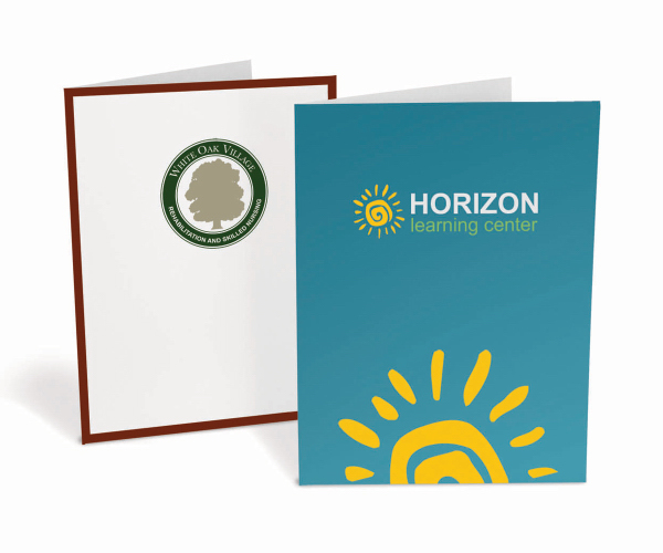 Presentation Folder-Std Paper-3 Color Ink Printed