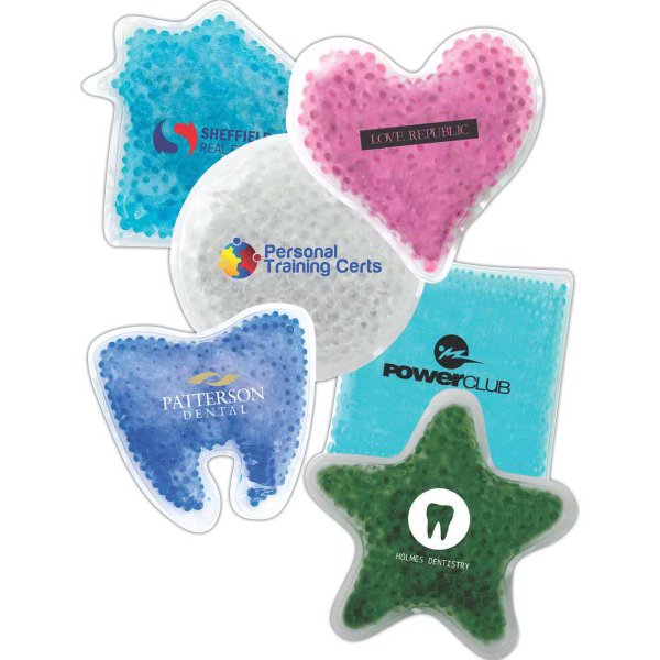 Tooth Shaped Gel Tekbeads Hot/Cold Pack