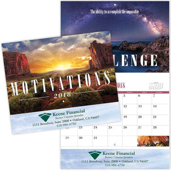Coronado Collection Motivations Calendar