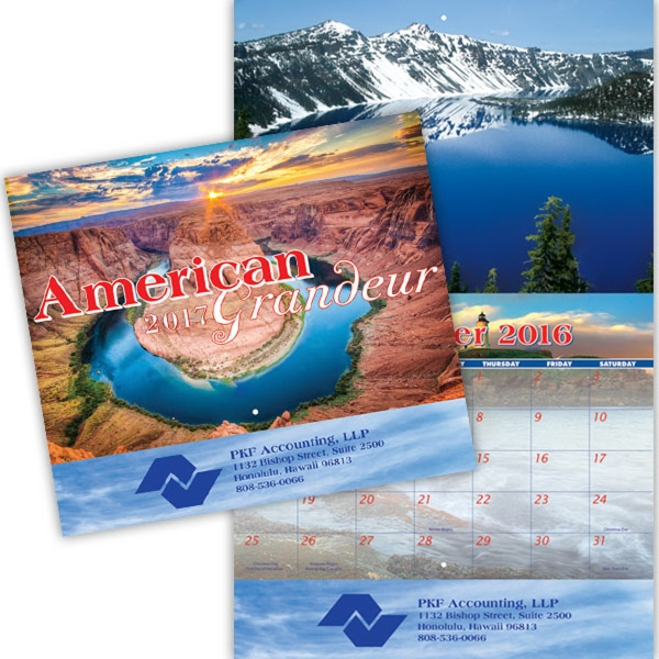 Coronado Collection American Grandeur Calendar