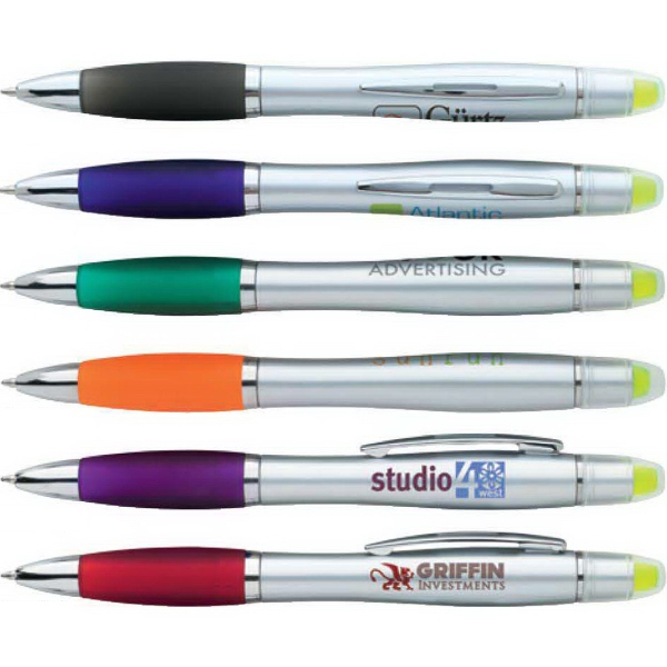 Silver Ion Wax Gel Highlighter Pen