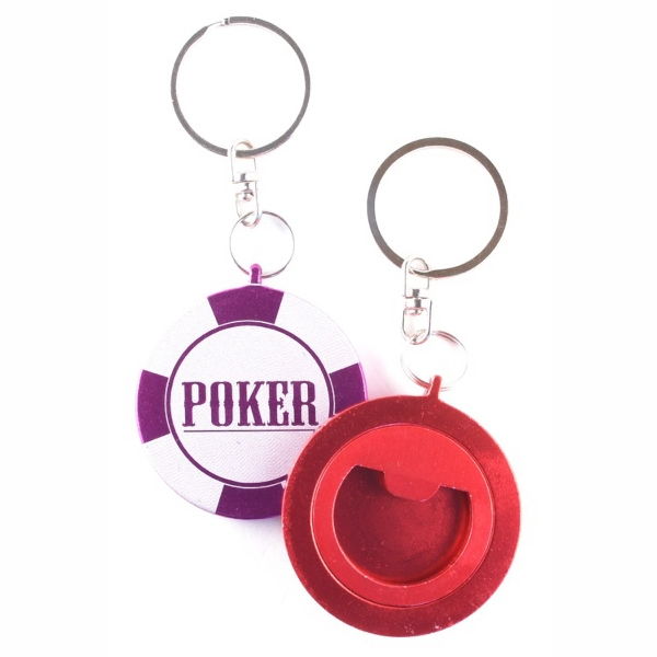 Round Key Chain / Bottle Opener