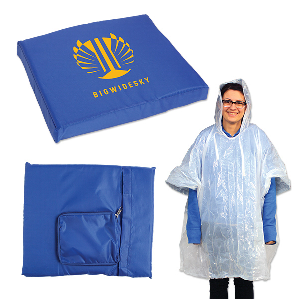 Seat Cushion with Poncho