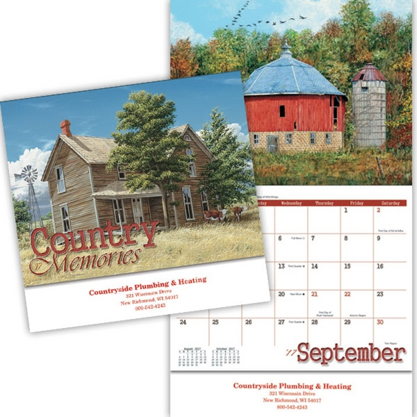 Kingswood Collection Country Memories Appointment Calendar