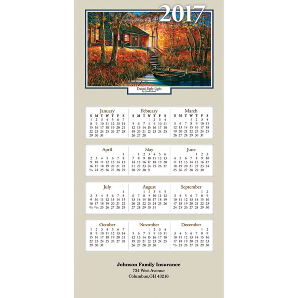 Z-Fold Woodland Retreat Calendar