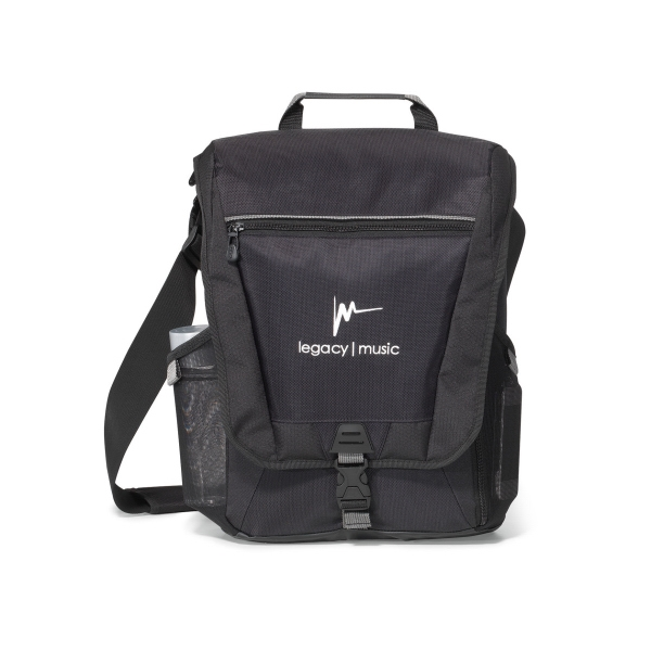 Vertex (TM) Vertical Computer Messenger Bag