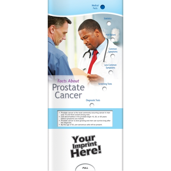 Pocket Slider - Facts about Prostate Cancer