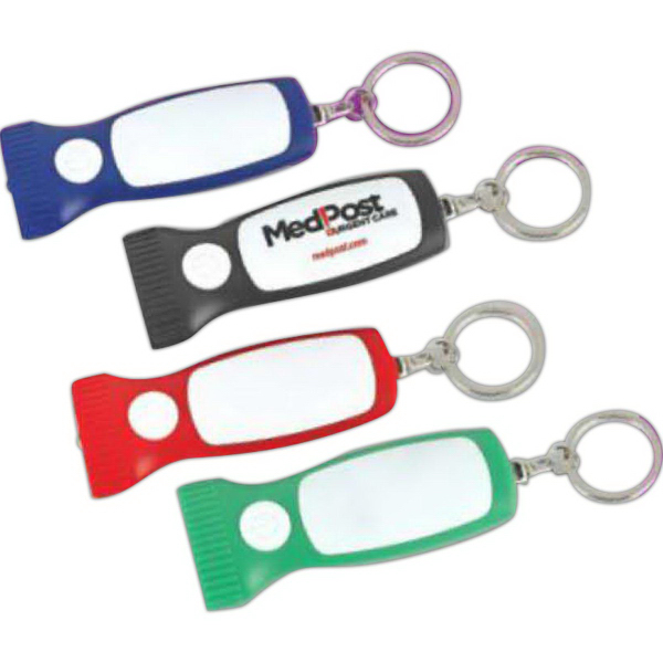 "Mini ""Torch"" Light-Up Key Chain"