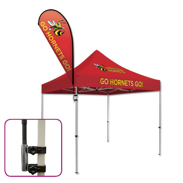 Sail Sign Mount for Tent Frame