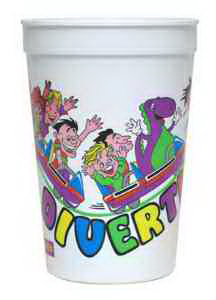Offset 16 oz Stadium Cup