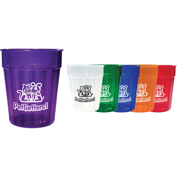 24 oz Fluted Jewel Stadium Cup