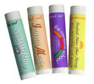 All Natural Pomegranate Lip Balm