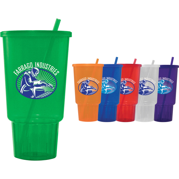 32 oz Car Cup Jewel Tumbler