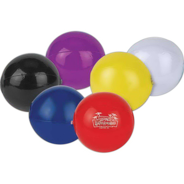 "7"" Mini Solid Colored Beach Balls"