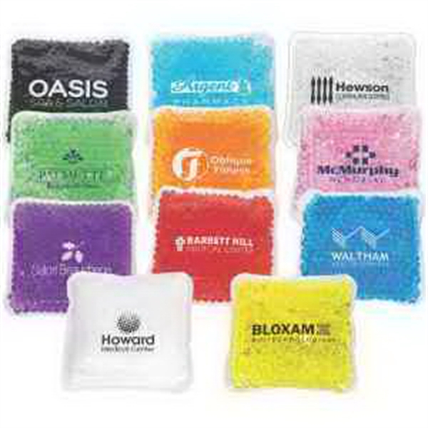 Square Aqua Pearls Hot/Cold Pack