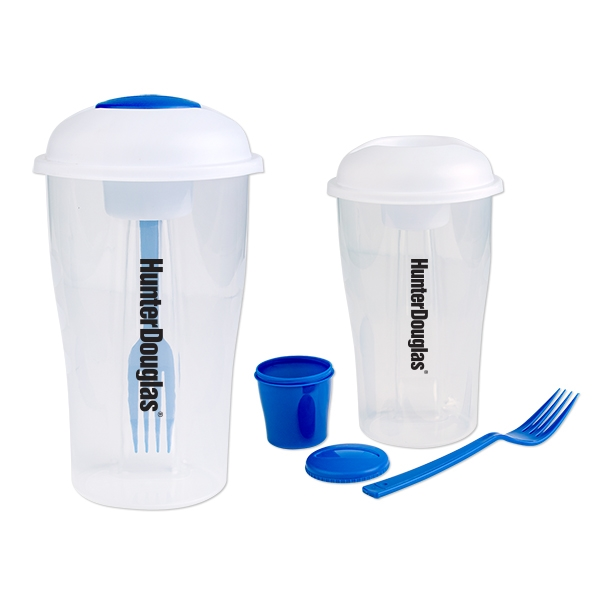 3 Piece Salad Shaker Set