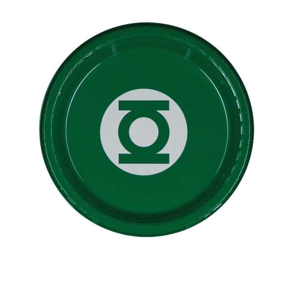 "7"" Plastic Plate - Green"