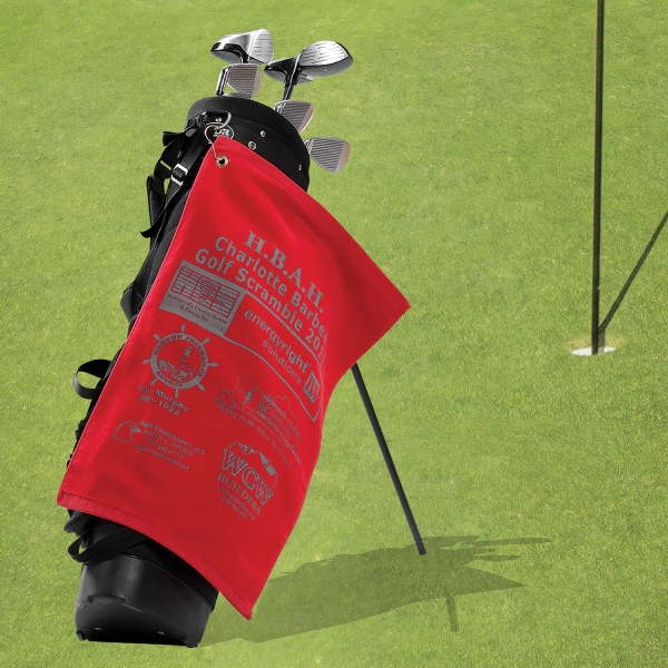 Premium Terry Velour Golf Towels