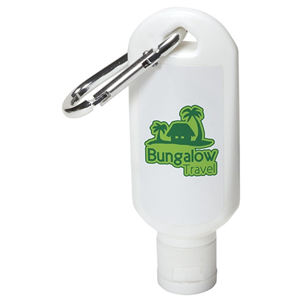 Safeguard 1.8 oz. Sunscreen with Carabiner