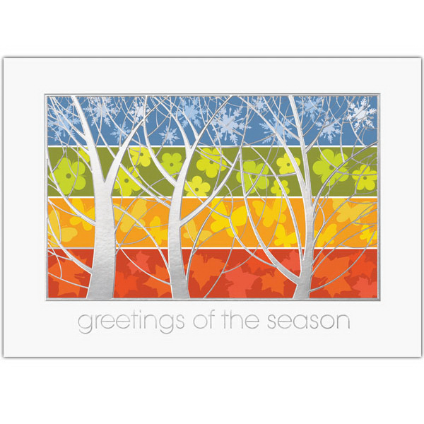 Four Season Greeting Card