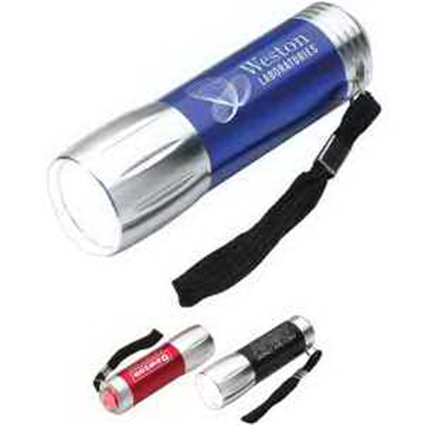 Compact Multi-Function LED Flashlight