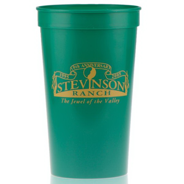 22oz Stadium Cup Green