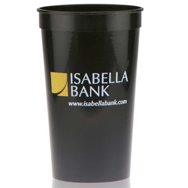 22oz Stadium Cup Black