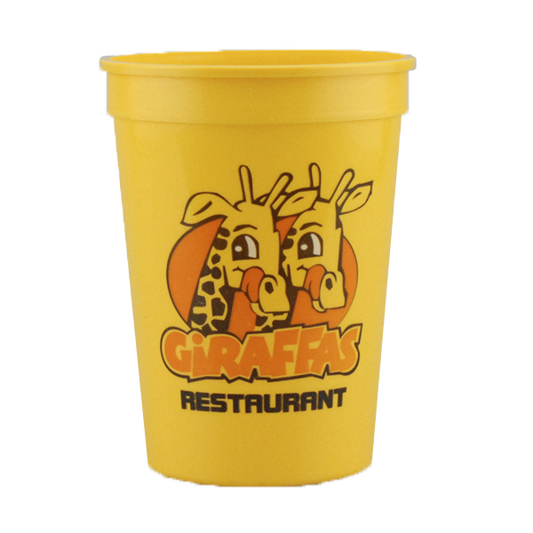 12 oz. Stadium Cup Yellow