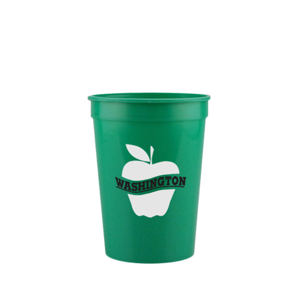 12 oz. Stadium Cup-Green