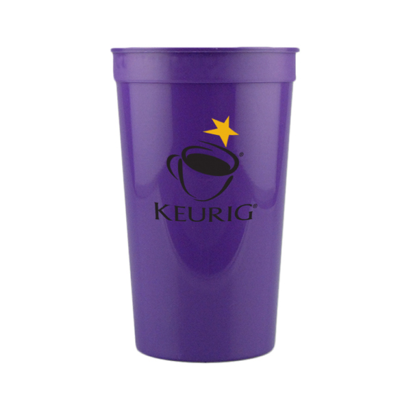 22 oz. Stadium Cup-Purple