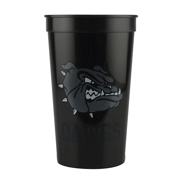 22 oz. Stadium Cup Black