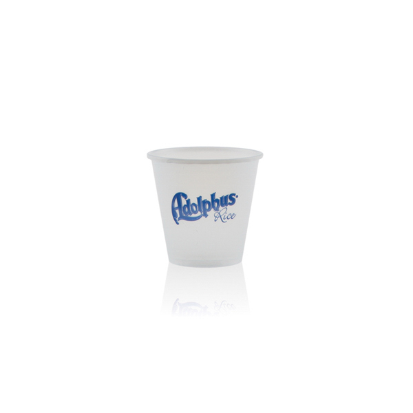 3.5 oz Soft Sided Frosted Plastic Cup