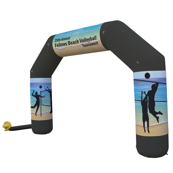 Jumbo Arch Inflatable Display with Graphics