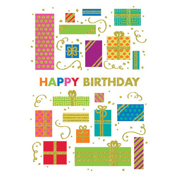 Boxed Gifts Greeting Card