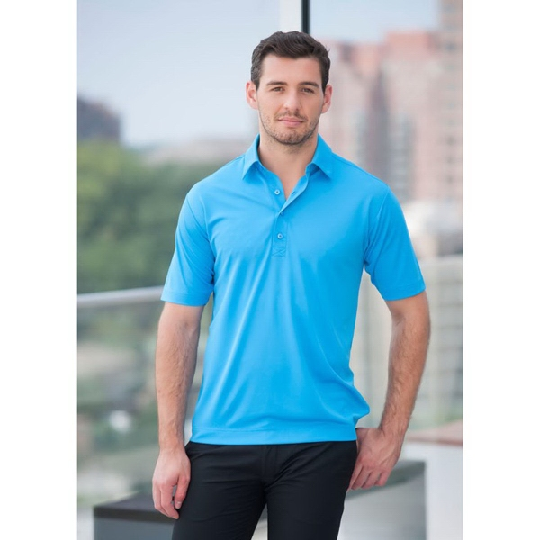 Men's Short Sleeve Syntrel (TM) Interlock Boston Polo