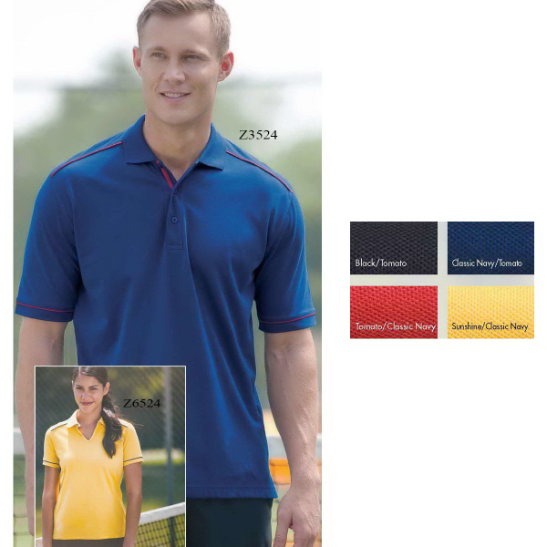 Men's Columbia Dri-Balance(TM) Contrast Piped Polo
