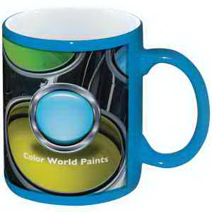 Full Color Stoneware CranColor Mug - 11 oz